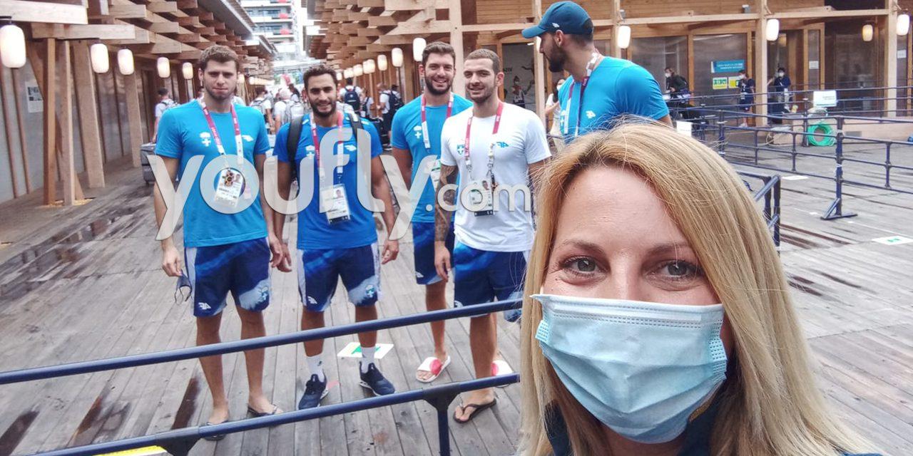 Η ελληνική αποστολή στους ολυμπιακούς αγώνες
