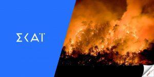 παρουσιαστές ΣΚΑΪ φωτιές