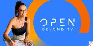 Η Μπέττυ Μαγγίρα και ο Θανάσης Αλευράς στο open