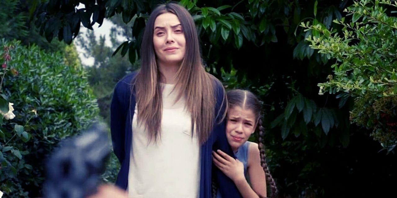 Η Μελέκ στο τελευταίο επεισόδιο της σειράς elif