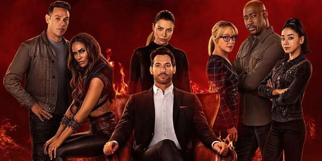 Η αφίσα της σεζόν 6 του Lucifer