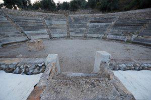 Πλάνο από το μικρό θέατρο της Επιδαύρου