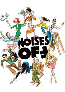 Παράσταση Αφίσα Noises Off θέατρο Παλλάς