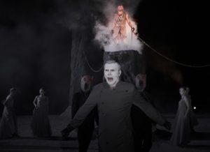 Εικόνα από την παράσταση Προμηθέας Δεσμώτης