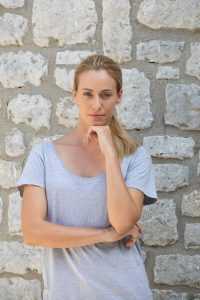 Η ηθοποιός Σοφία Μανωλάκου