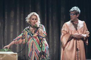 Η Τζένη Μπότση στην παράσταση η Ποντικοπαγίδα