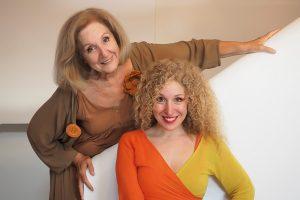 Κάρμεν Ρουγγέρη και Χριστίνα Κουλουμπή - παραστάσεις Θέατρο Κιβωτός