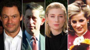 The Crown σεζόν 5- ηθοποιοί που υποδύονται την Νταιάνα και τον Κάρολο