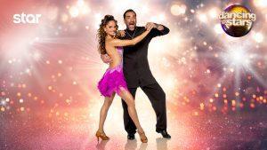 Ο Δημήτρης κι η Δανάη στα ζευγάρια του Dancing with the Stars