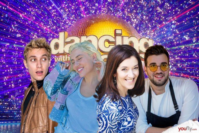 Μερικά από τα ζευγάρια του Dancing with the Stars