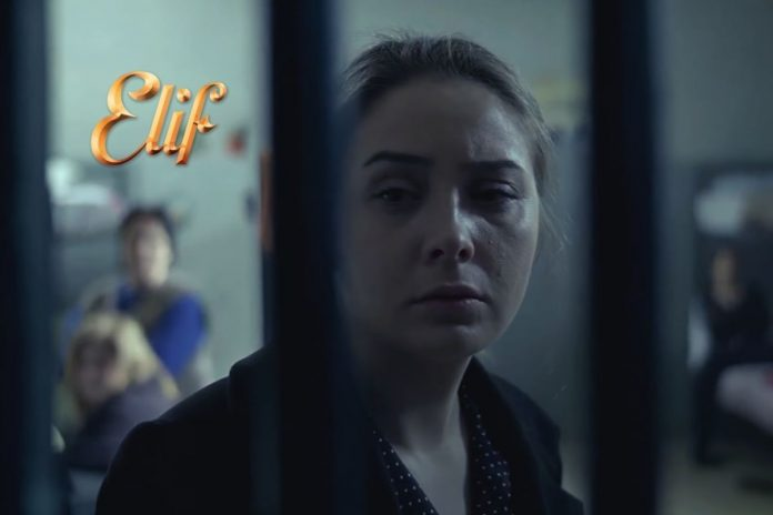 Η Μελέκ στη σειρά elif στη φυλακή
