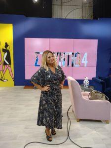 Η Νάνσυ Ζαμπέτογλου στο Στούντιο 4