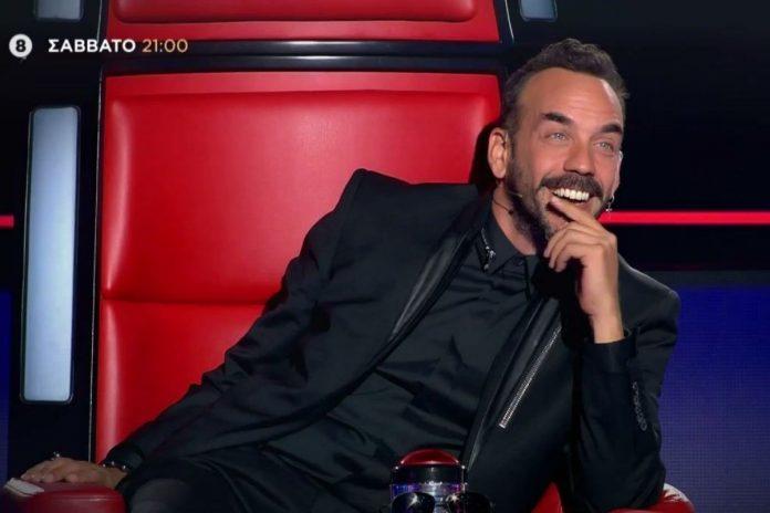 Ο Πάνος Μουζουράκης στο νέο επεισόδιο The Voice
