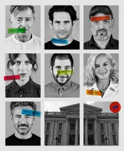 Οι ηθοποιοί στις θεατρικές παραστάσεις στο Δημοτικό Θέατρο Πειραιά