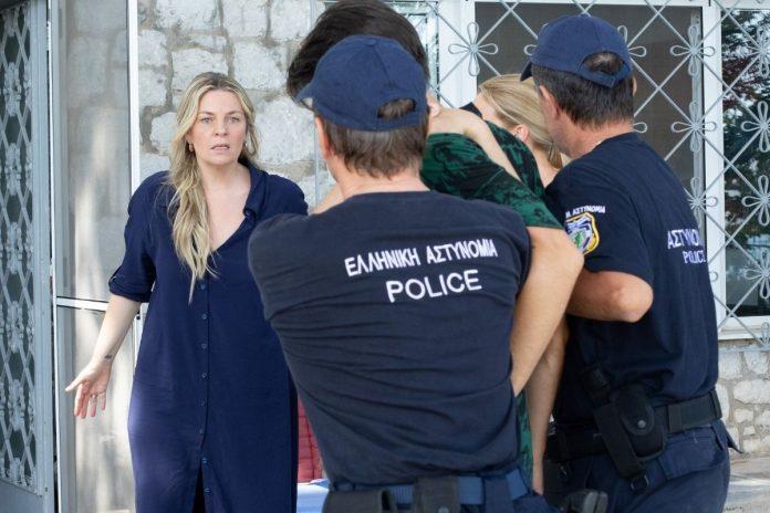 Η Ελισάβετ Μουτάφη στα επεισόδια της σειράς