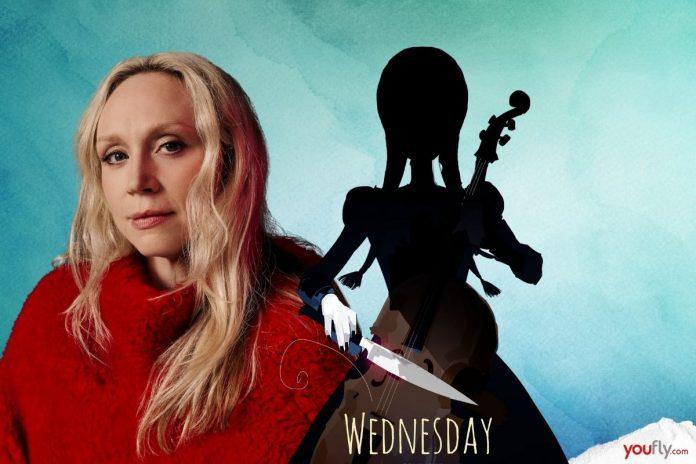 Η Gwendoline Christie στη σειρά Wednesday του Netflix