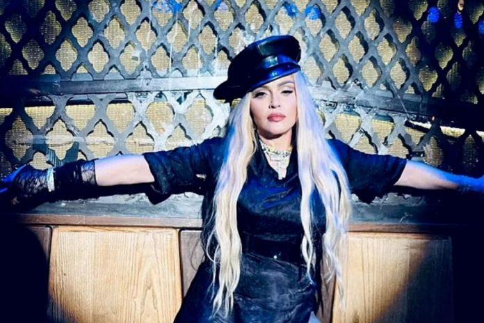 Η τραγουδίστρια μαντόνα