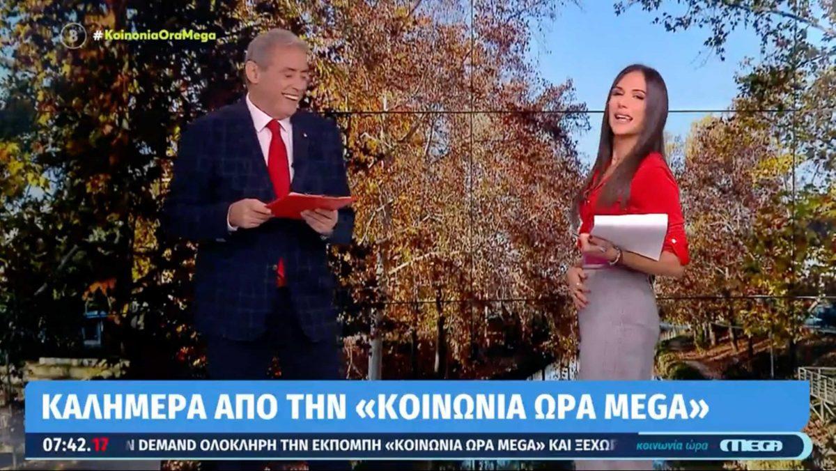 Ο Ιορδάνης Χασαπόπουλος και η Ανθή Βούλγαρη