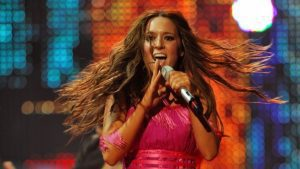 Η τραγουδίστρια Καλομοίρα