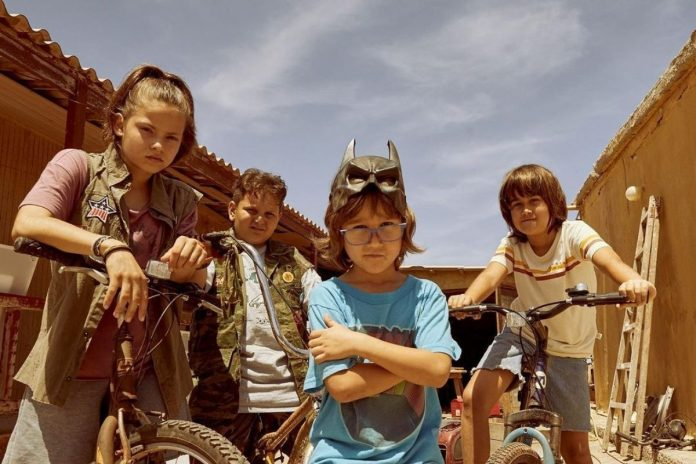 Οι μικροί ηθοποιοί στο Κομάντα και Δράκοι