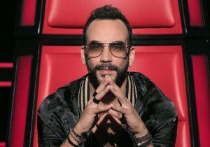 Ο Πάνος Μουζουράκης σε πλάνο από το The Voice