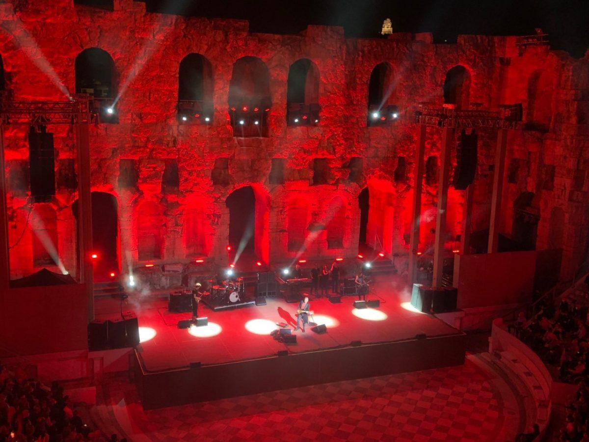 Πλάνο από την συναυλία του Sting στο Ηρώδειο