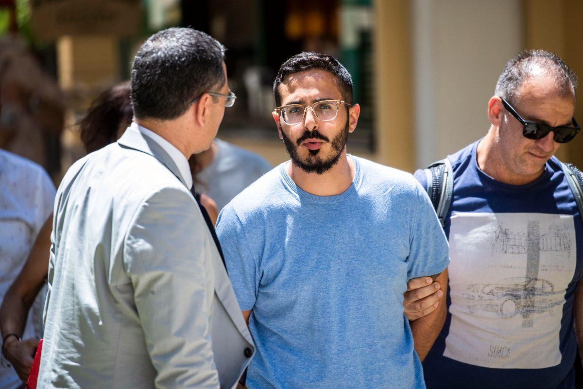 Πλάνο από τη σύλληψη του Shimon Hayut